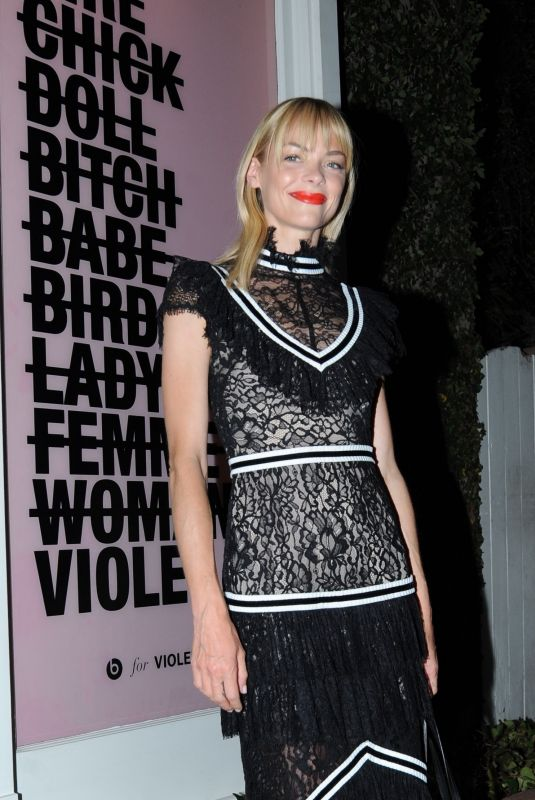JAIME KING at Violet Grey Party in Los Angeles 07/11/2018
