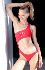 JAIME KING in Swimsuit on teh Set of a Photoshoot in Hollywood 06/25/2018