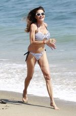 JANICE DICKINSON in Bikini at a Beach in Malibu 07/04/2018