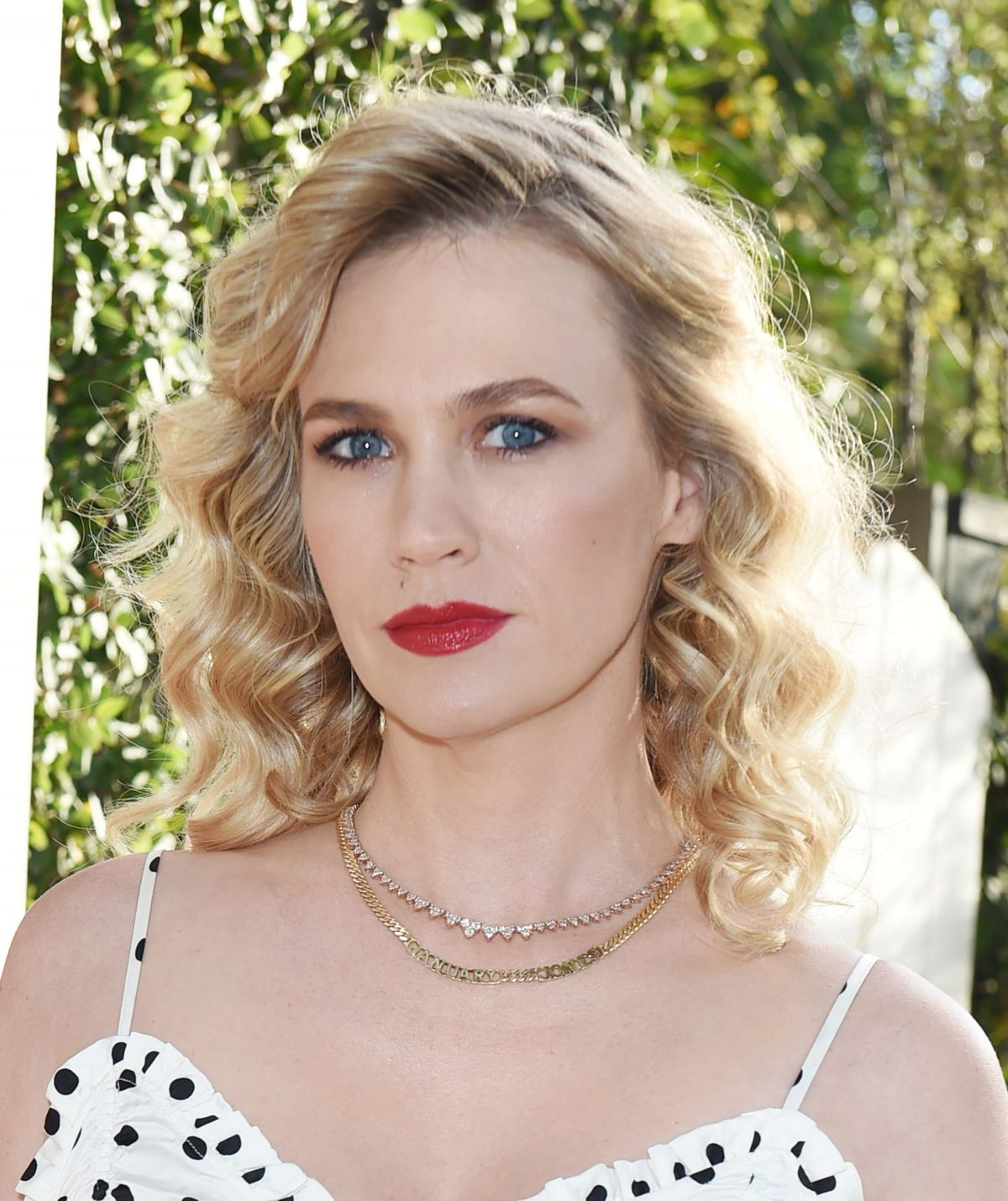 JANUARY JONES at Violet Grey Party in Los Angeles 07/11 ...January Jones