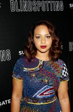 JASMINE CEPHAS JONES at Lionsgate Hosts Blindspotting Screening in New York 07/16/2018