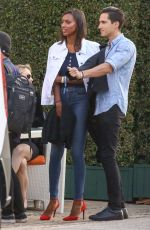 JASMINE TOOKES at Bootsy Bellows Fourth of July Party at Nobu in Los Angeles 07/04/2018