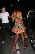 JASMINE TOOKES Out for Dinner at Avra in Beverly Hills 07/23/2018