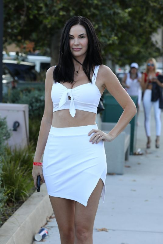 JAYDE NICOLE at Bootsy Bellows Fourth of July Party at Nobu in Los Angeles 07/04/2018