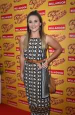 JAZMINE FRANKS at Fame the Musical Night Press in Manchester 07/26/2018