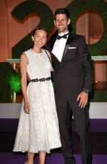 JELENA and Novak DJOKOVIC at Wimbledon Champions Dinner at Guildhall in London 07/15/2018