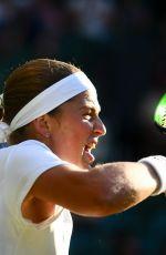 JELENA OSTAPENKO at Wimbledon Tennis Championships in London 07/03/2018