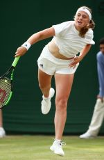 JELENA OSTAPENKO at Wimbledon Tennis Championships in London 07/05/2018