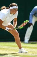 JELENA OSTAPENKO at Wimbledon Tennis Championships in London 07/07/2018