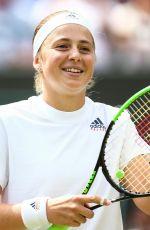 JELENA OSTAPENKO at Wimbledon Tennis Championships in London 07/10/2018