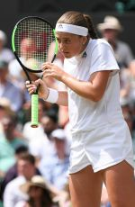 JELENA OSTAPENKO at Wimbledon Tennis Championships in London 07/12/2018