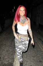 JEMMA LUCY Night Out in London 07/06/2018