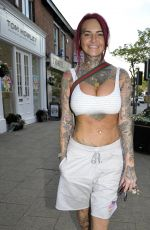 JEMMA LUCY Out and About in Cheshire 07/04/2018