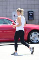JENNIE GARTG Heading to a Gym in Los Angeles 07/27/2018