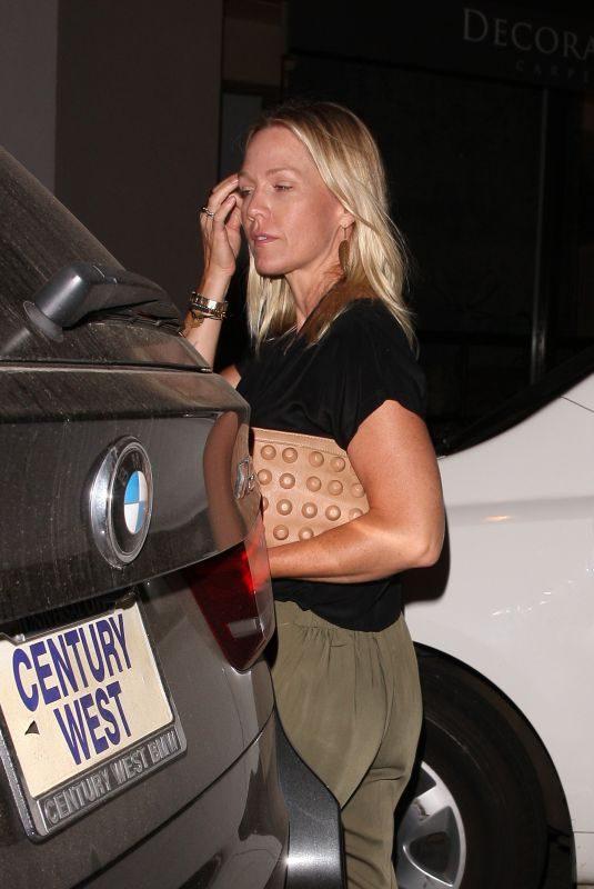 JENNIE GARTH Leaves Craig's Restaurant in West Hollywood 07/27/2018