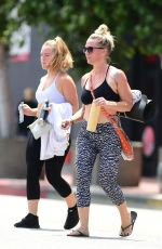 JENNIE GARTH Leaves Yoga Class in Los Angeles 07/12/2018