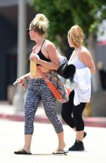 JENNIE GARTH Leaves Yoga Class in Los Angeles 07/12/2018