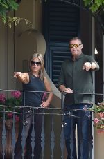 JENNIFER ANISTON Arrives in Portofino 07/21/2018
