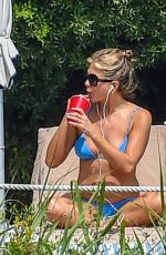 JENNIFER ANISTON in Bikini at a Pool in Portofino 07/22/2018