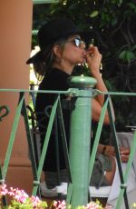 JENNIFER ANISTON Out for Lunch in Portofino 07/21/2018