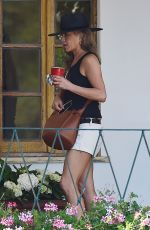 JENNIFER ANISTON Out in Portofino 07/24/2018