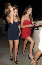 JENNIFER FLAVIN and SISTINE, SOPHIA and SCARLET STALLONE at Corinthia Hotel in London 07/06/208