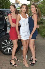 JENNIFER FLAVIN and SISTINE, SOPHIA and SCARLET STALLONE at Corinthia Hotel in London 07/06/208