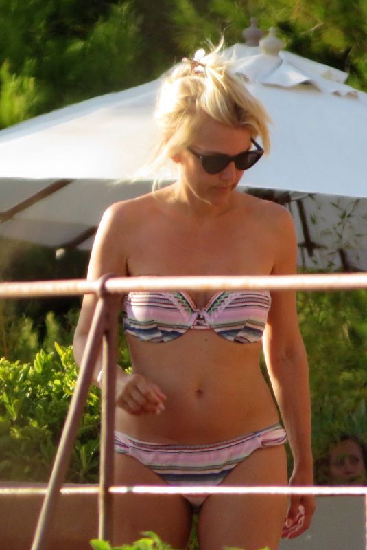 JENNIFER KNABLE in Bikini on Vacation in Mallorca 07/22/2018