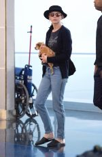 JENNIFER LAWRENCE at JFK Airport in New York 07/19/2018