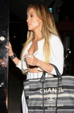 JENNIFER LOPEZ and Alex Rodriguez Leaves Craig
