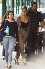 JENNIFER LOPEZ and Alex Rodriguez Out in New York 07/22/2018
