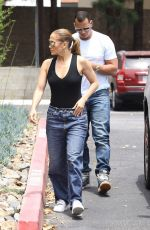 JENNIFER LOPEZ and Alex Rodriguez Shopping for an Office Space in Los Angeles 07/10/2018