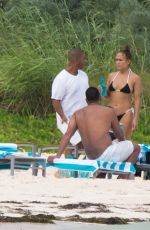 JENNIFER LOPEZ in Bikini at a Beach in Bahamas 07/24/2018