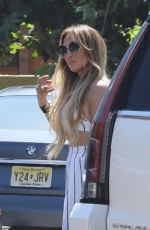 JENNIFER LOPEZ Out for Lunch at Nobu in Malibu 07/08/2018