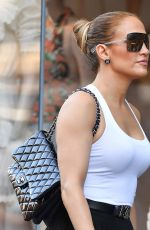 JENNIFER LOPEZ Sopping at Intermix in New York 06/30/2018