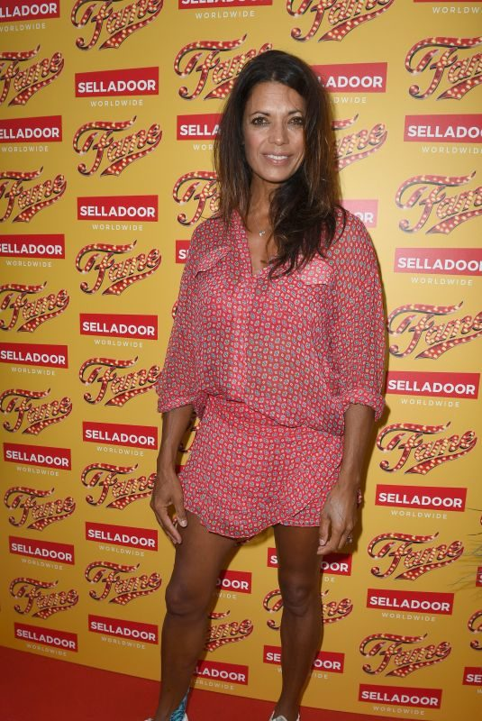 JENNY POWELL at Fame the Musical Night Press in Manchester 07/26/2018