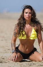 JENNY THOMPSON in Bikini at a Beach in Majorca 07/07/2018