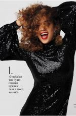 JESSICA ALBA in Instyle Magazine, Russia August 2018