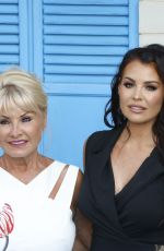 JESSICA and NATALYA WRIGHT at Mamma Mia Here We Go Again Premiere in London 07/16/2018