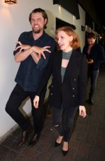 JESSICA CHASTAIN Out and About in Toronto 07/07/2018