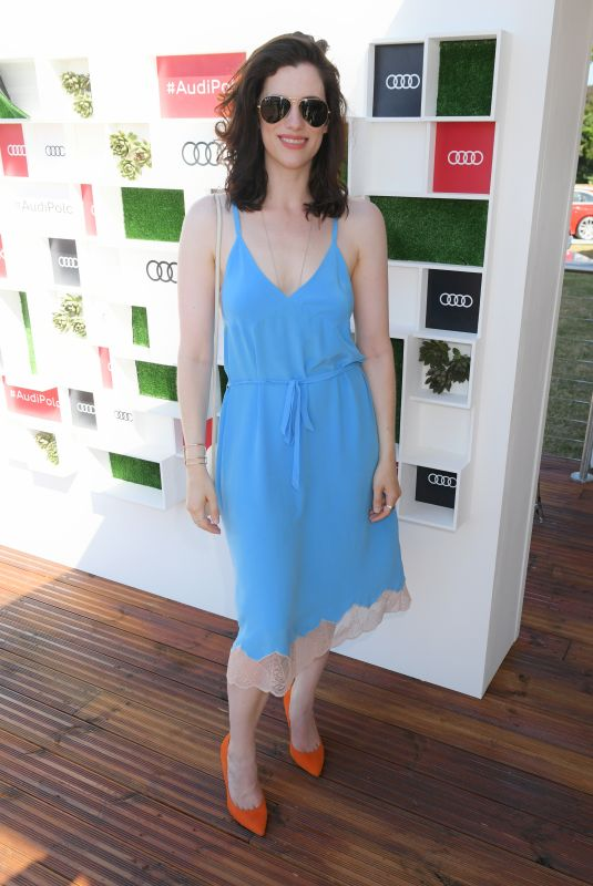 JESSICA DE GOUW at Audi Polo Challenge at Coworth Park Polo Club 07/01/2018