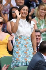 JESSICA ENNIS-HILL at Wimbledon Tennis Championships in London 07/07/2018