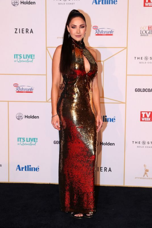 JESSICA GREEN at 2018 Logie Awards in Gold Coast 07/01/2018