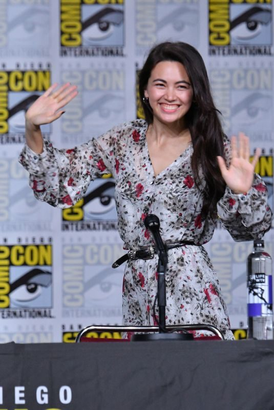 JESSICA HENWICK at Iron Fist Panel at Comic-con 2018 in San Diego 07/19/2018