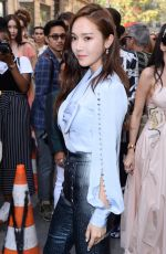 JESSICA JUNG at Ralph & Russo Fashion Show in Paris 07/02/2018