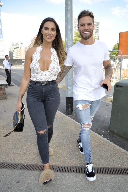 JESSICA SHEARS Arrives at an Engagement Party in Manchester 07/15/2018