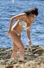 JESSICA WRIGHT in Bikini at a Beach in Ibiza 07/02/2018