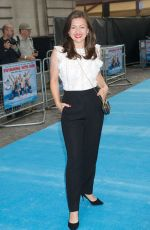 JO HARTLEY at Swimming with Men Premiere in London 07/04/2018