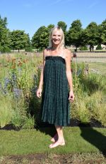 JO WHILEY at Hampton Court Flower Show 07/02/2018