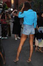 JOAN SMALLS Leaves Peter Dundas Fashion Show in Paris 07/02/2018